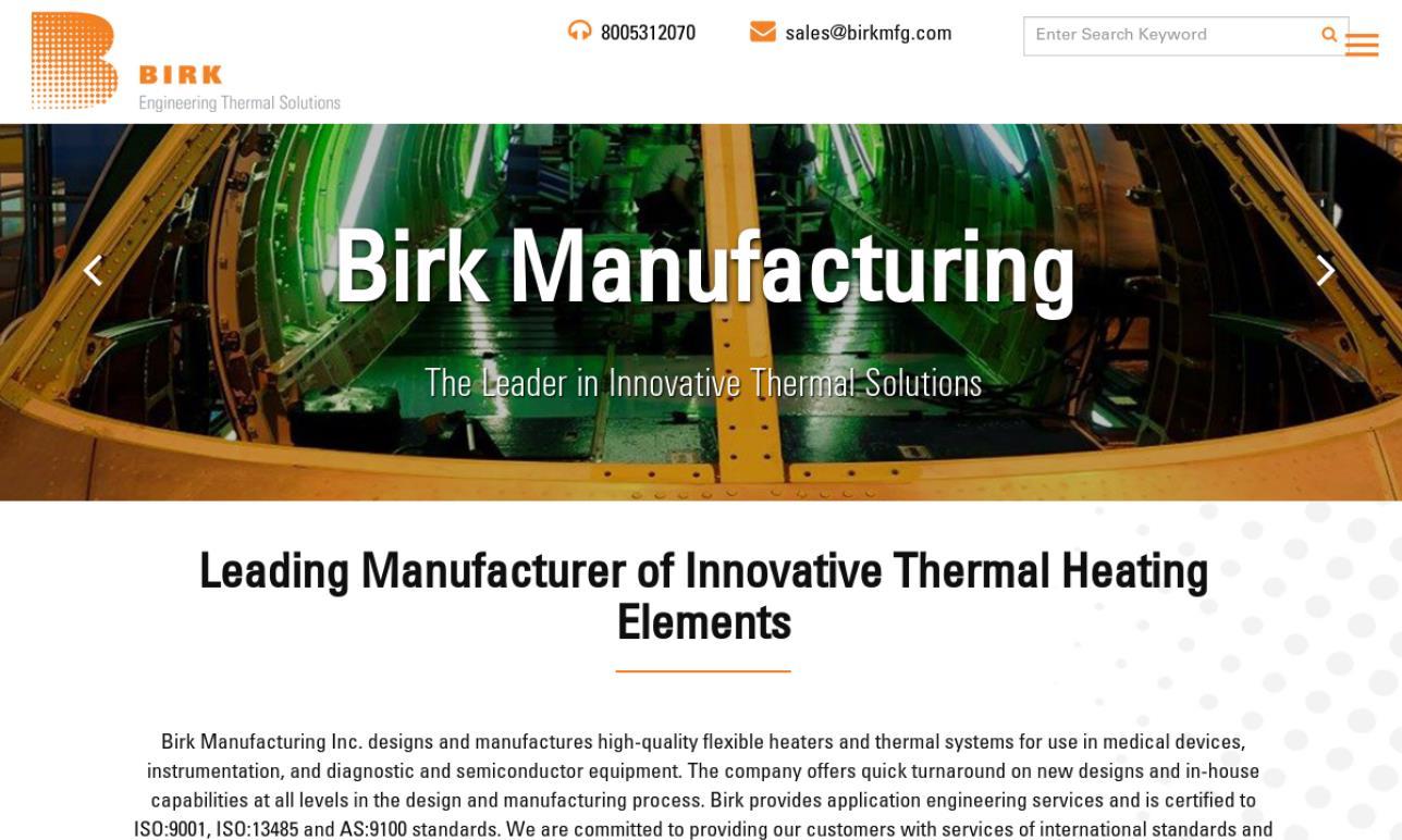 Birk Manufacturing, Inc.