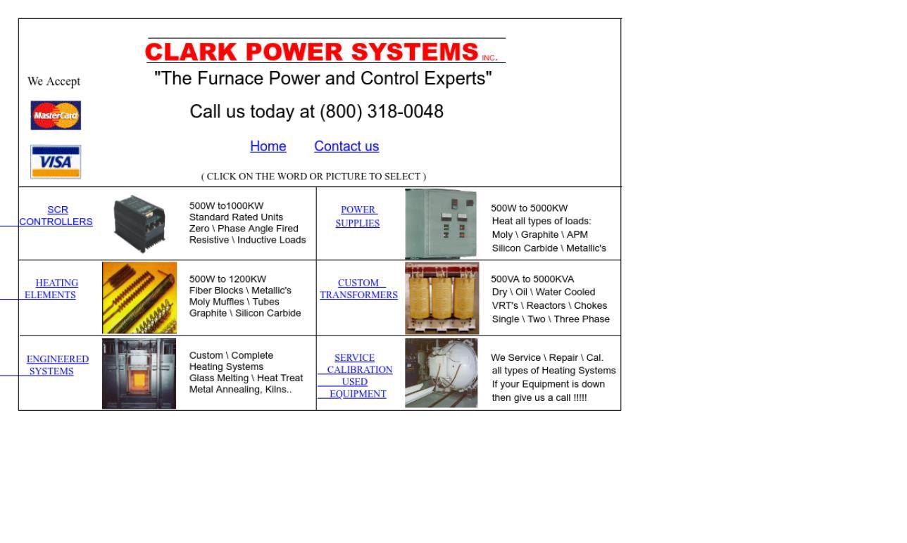 Clark Power Systems Inc.