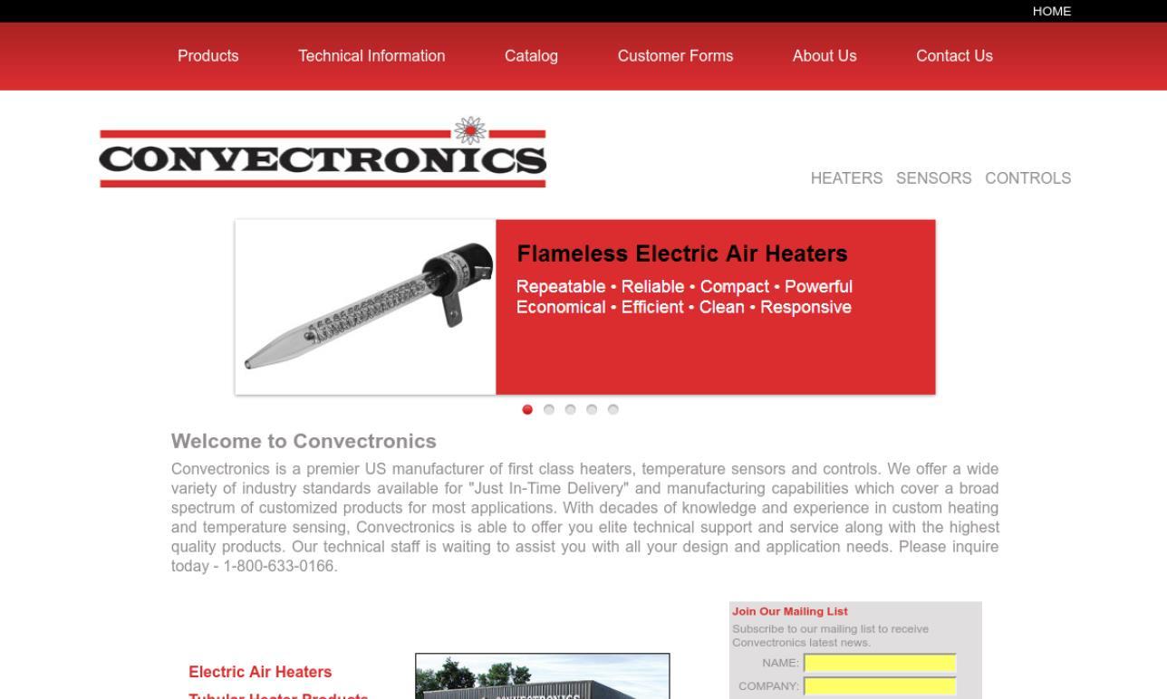 Convectronics, Inc.