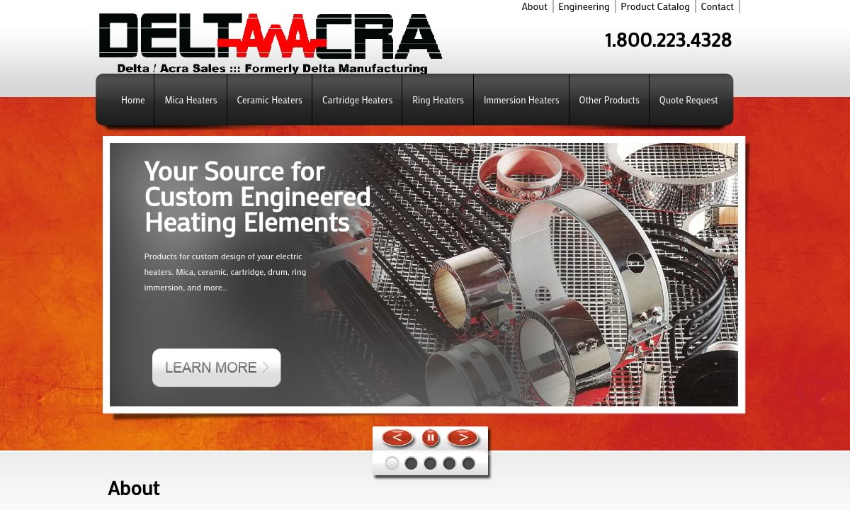 Delta Manufacturing Company Incorporated