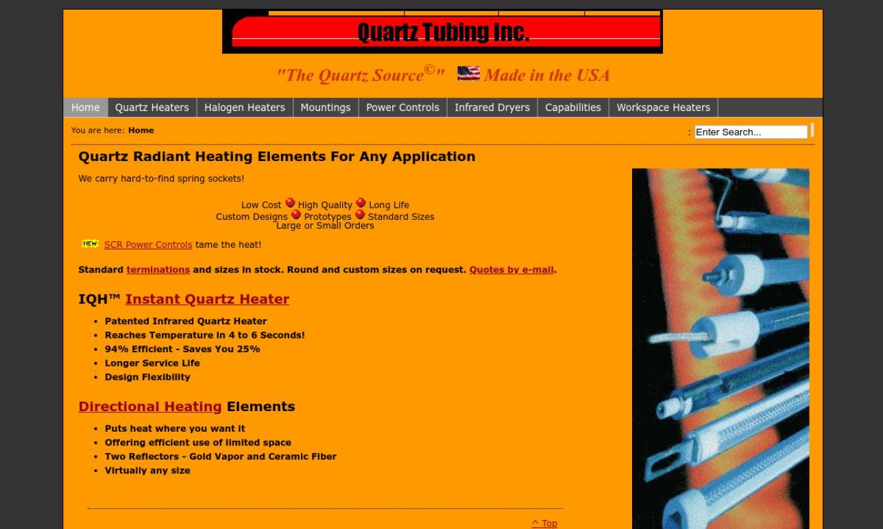 Quartz Tubing, Inc.