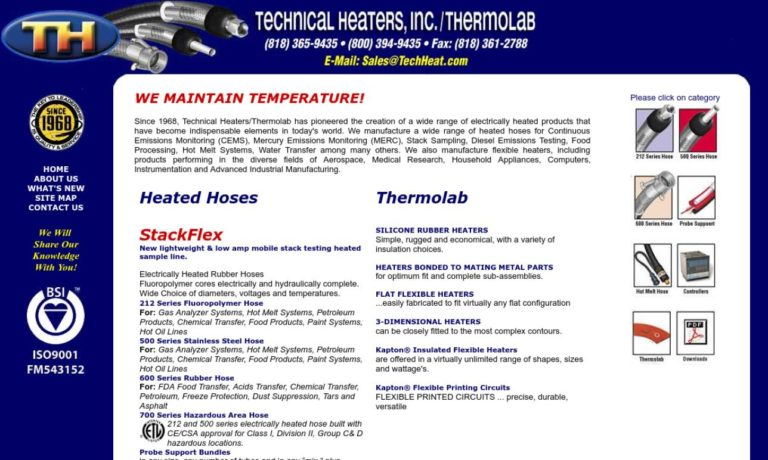 Technical Heaters, Inc./Thermolab