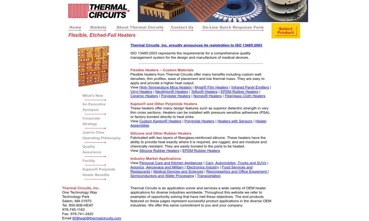 Thermal Circuits Inc.