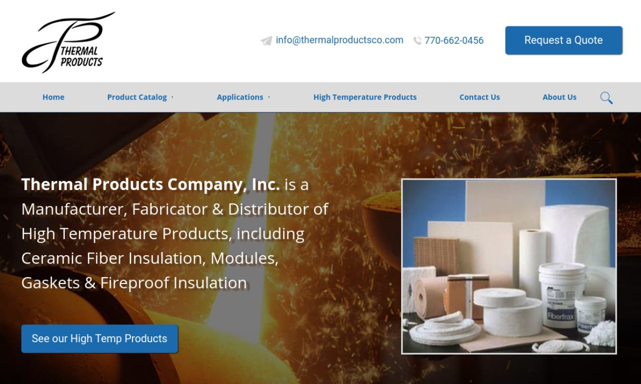 Thermal Products Company, Inc.